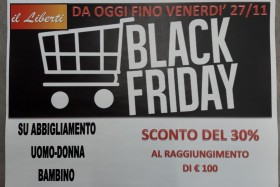 BLACK FRIDAY LIBERTI